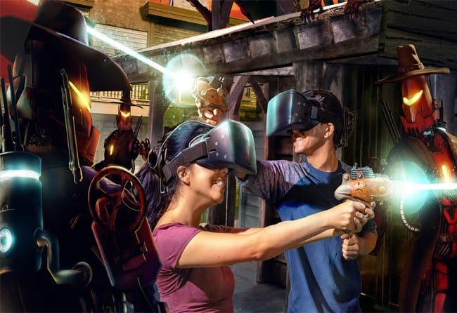 With VR, you can battle aliens