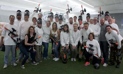 Private Paintball Events any day you want.