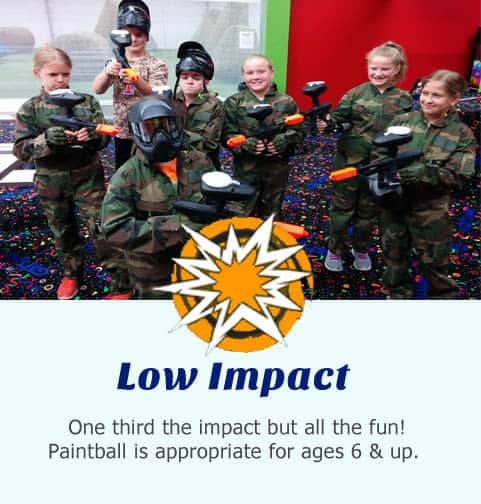 Low impact paintball is perfect for everyone