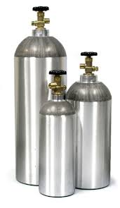 Kegerator CO2 tanks are normally 5 lb but can come in other sizes