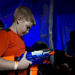Nerf Parties in the Dallas Ft Worth area