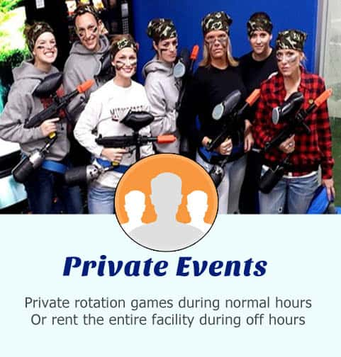 Paintball Te;am Building and other Private Events