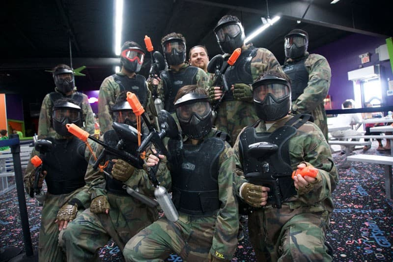 Private Rotation Paintball groups