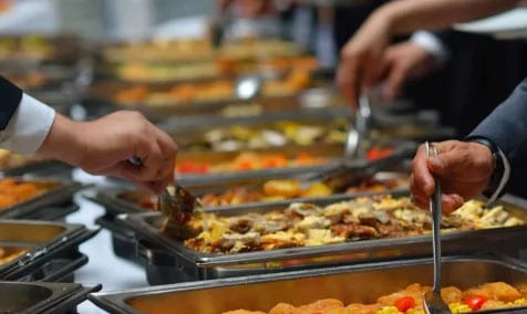 Cater in food for Private Events