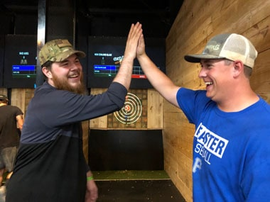 axe throwing dallas