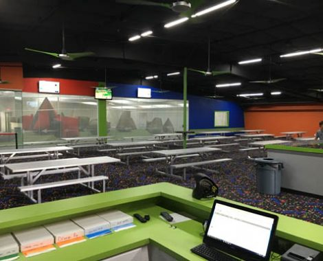 Plenty of tables for your Rowlett Paintball Party
